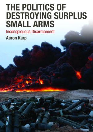PNG Alpers Surplus Weapon Disposal
