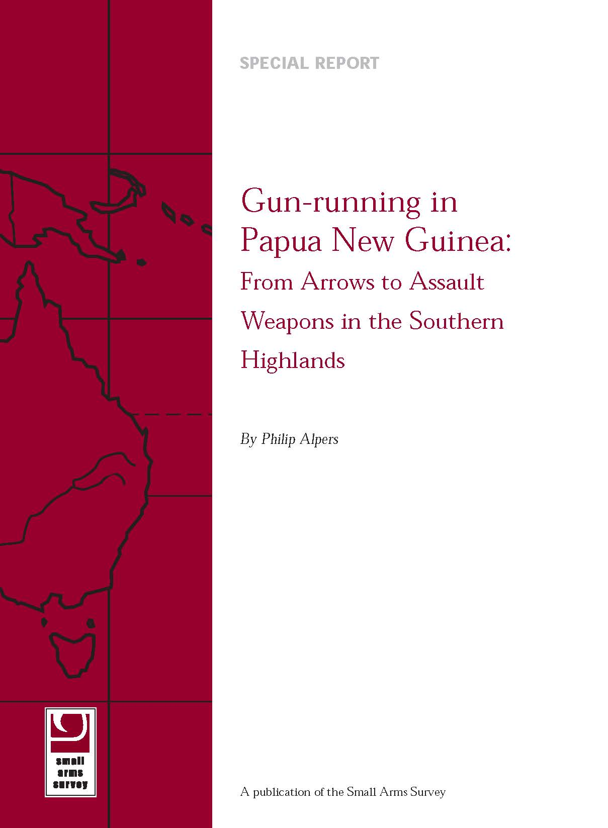 Alpers SAS PNG SR5 Gunrunning In Papua New Guinea