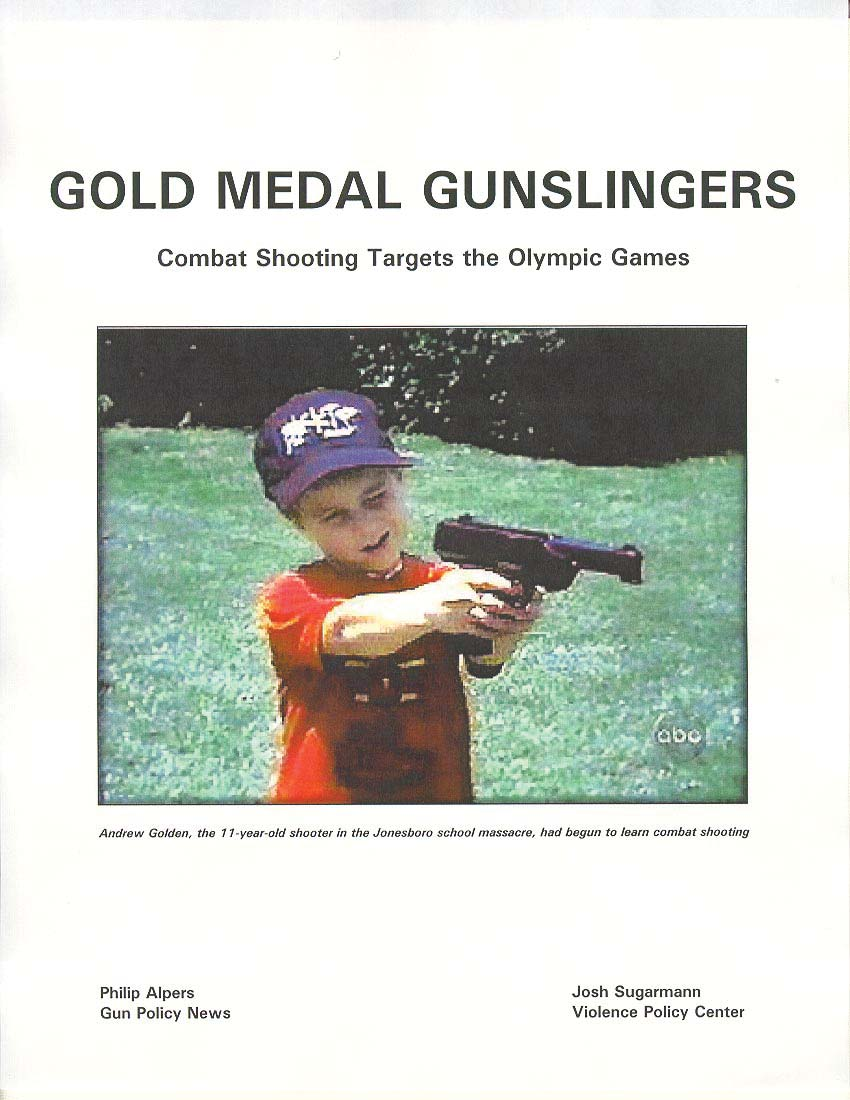 Gold Medal Gunslingers - Shoot to Kill at the Olympic Games?